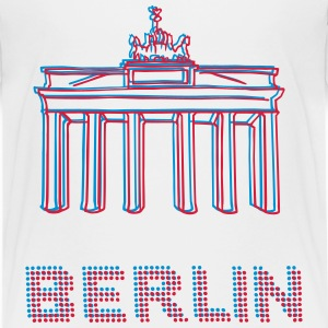 Berlin, Brandenburger Tor 3D - Teenager Premium T-Shirt