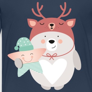 BEAR LIKES STAR - Teenager Premium T-Shirt