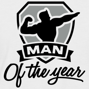 Man of the year 2 clr T-skjorter - Kortermet baseball skjorte for menn