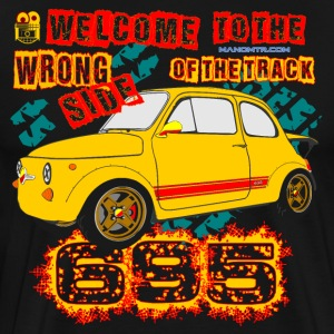 Welcome to the Wrong Side of the Track - Maglietta Premium da uomo