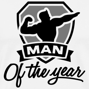 Man of the year 2 clr T-shirts - Mannen Premium T-shirt