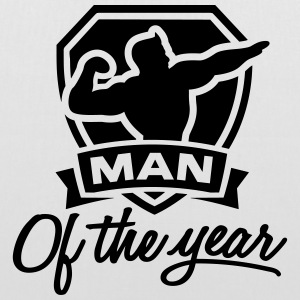 Man of the year 1 clr Borse & Zaini - Borsa di stoffa