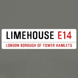 Limehouse Street Sign - Men's Premium T-Shirt