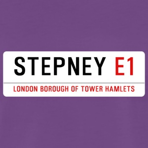 Stepney Street Sign - Men's Premium T-Shirt