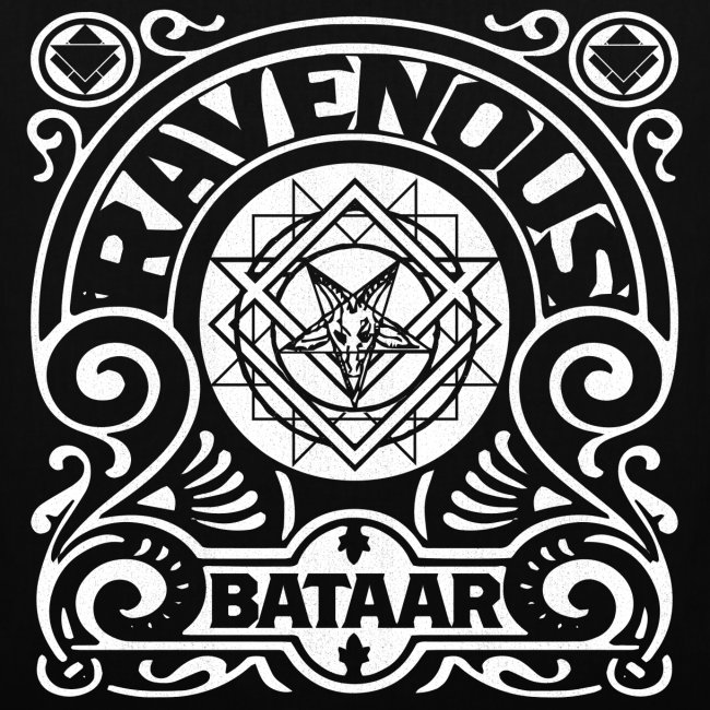 """RAVENOUS"" Tote Bag"