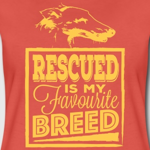 Rescued is my favourite   Magliette - Maglietta Premium da donna