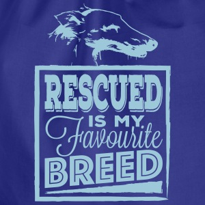 Rescued is my favourite   Borse & Zaini - Sacca sportiva