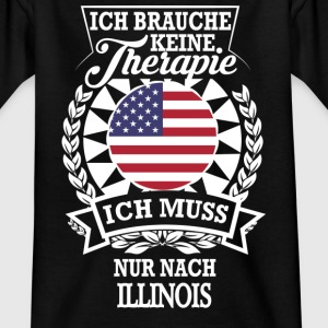 Therapie Illinois T-Shirts - Kinder T-Shirt
