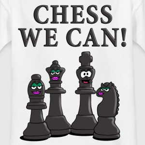 chess_we_can_12_2016_c T-Shirts - Kinder T-Shirt