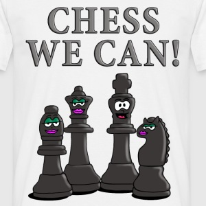 chess_we_can_12_2016_b T-Shirts - Männer T-Shirt