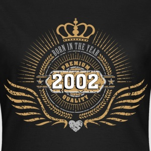 born_in_2002_crown18 T-Shirts - Frauen T-Shirt