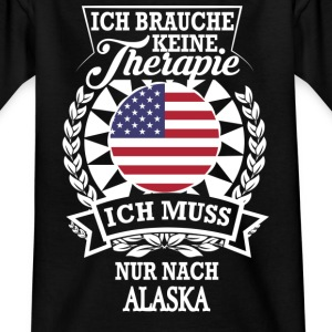 Therapie Alaska T-Shirts - Kinder T-Shirt