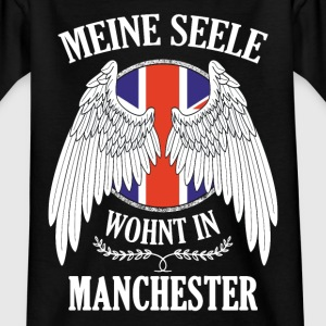 Meine Seele wohnt in MANCHESTER T-Shirts - Teenager T-Shirt