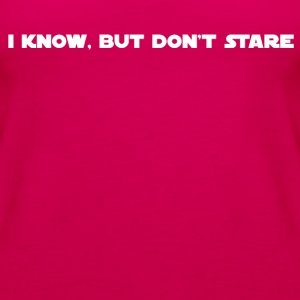 Don't Stare 01 - Women's Premium Tank Top