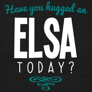 have you hugged an elsa name today - Men's T-Shirt