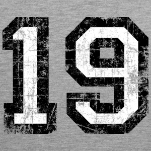 Number 19 number nineteen 19th birthday nineteenth Sports wear - Men's Premium Tank Top