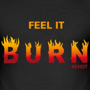 BEHOT.png T-shirts - slim fit T-shirt