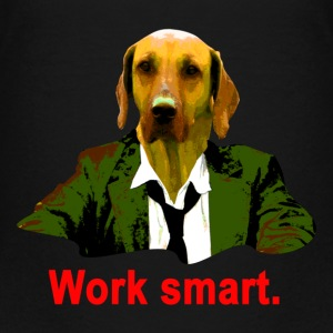 work smart ridgeback T-Shirts - Teenager Premium T-Shirt