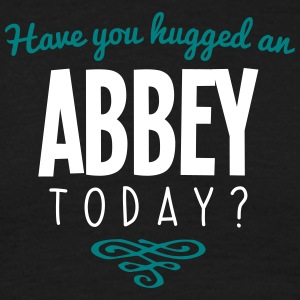 have you hugged an abbey name today - Men's T-Shirt