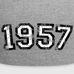 Year 1957 Birthday Vintage Caps & Hats - Jersey Beanie
