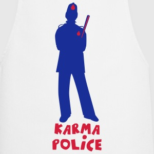 Karma Police 3c  Aprons - Cooking Apron