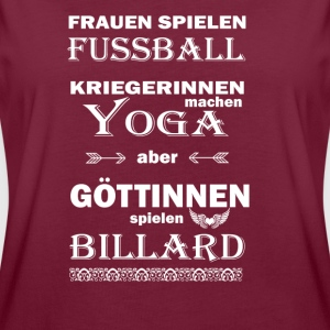 Billard Göttinnen  T-Shirts - Frauen Oversize T-Shirt