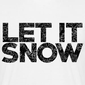 AD Snow Typography T-Shirts - Men's T-Shirt