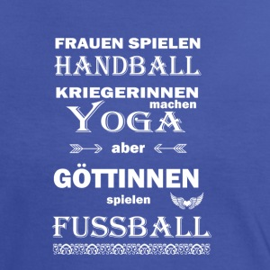 Fussball Göttinnen T-Shirts - Frauen Kontrast-T-Shirt