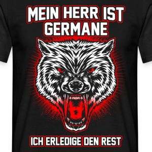 Germane-Wolfskopf T-Shirts - Men's T-Shirt