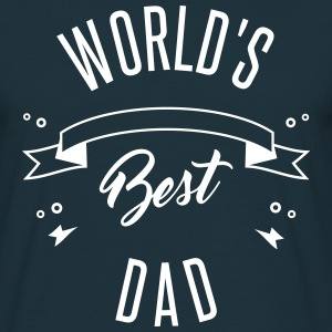 WORLD'S BEST DAD - Herre-T-shirt