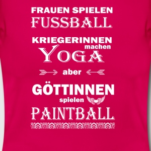 Paintball Göttinnen  T-Shirts - Frauen T-Shirt