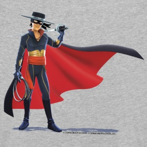 Zorro The Chronicles With Sword And Whip - Kids' Premium Longsleeve Shirt