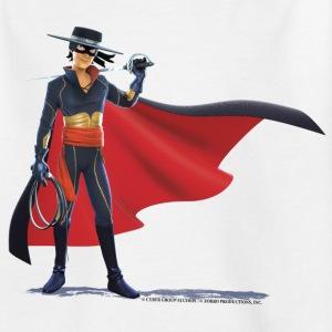Zorro The Chronicles Mit Degen Und Peitsche - Teenager T-Shirt
