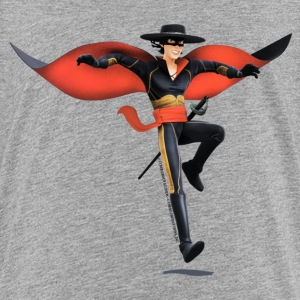 Zorro The Chronicles With Sword And Whip - Premium-T-shirt tonåring