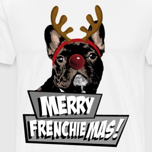 AD Merry FrenchieMas! T-shirts - Herre premium T-shirt