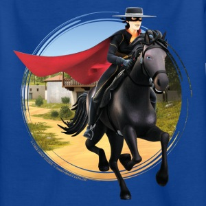 Zorro The Chronicles Riding Horse Tornado - Camiseta adolescente