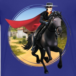 Zorro The Chronicles Riding Horse Tornado - Camiseta premium adolescente