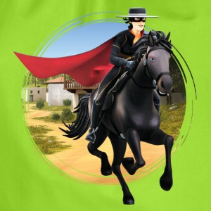 Zorro The Chronicles Riding Horse Tornado - Drawstring Bag
