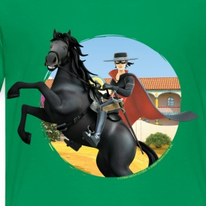 Zorro The Chronicles Riding Horse Tornado - Kinderen Premium T-shirt