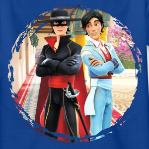 Zorro The Chronicles Don Diego Doppelleben - Kinder T-Shirt