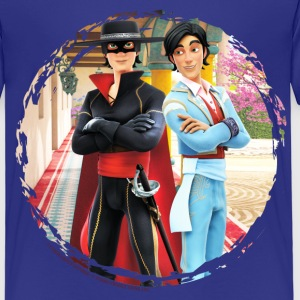 Zorro The Chronicles Don Diego Double Life - Kids' Premium T-Shirt
