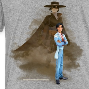 Zorro The Chronicles Don Diego Double Life - Kinderen Premium T-shirt