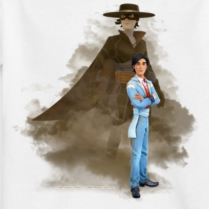 Zorro The Chronicles Don Diego Double Life - Teenage T-shirt