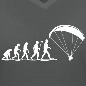 evolution paragliding T-Shirts - Women's V-Neck T-Shirt