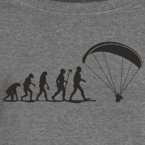 evolution paragliding Hoodies & Sweatshirts - Women's Boat Neck Long Sleeve Top