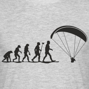 evolution paragliding T-Shirts - Mannen T-shirt