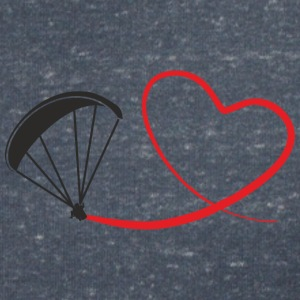 love paragliding T-Shirts - Women's V-Neck T-Shirt