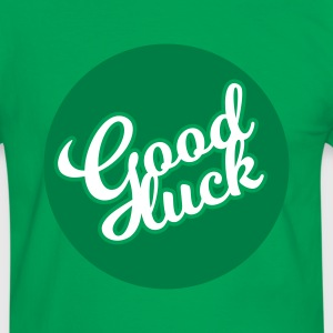 Good luck - Männer Kontrast-T-Shirt