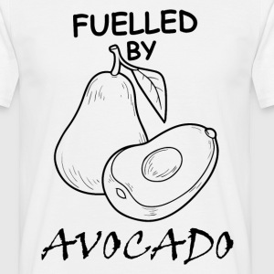 Fuelled By Avocado T-Shirts - Men's T-Shirt