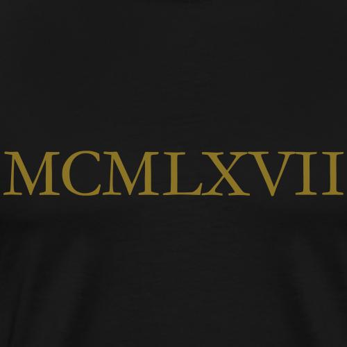 MCMLXVII Jahrgang 1967 Römisch Geburtstag Jahr
